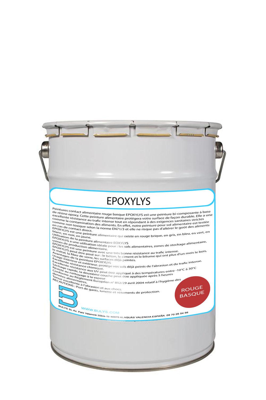 Peintures Contact Alimentaire Rouge Basque Epoxylys Bulys